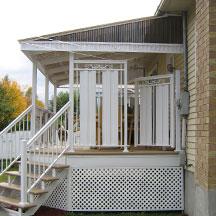 entreprises r boutet patio balcon v randa et rampes d 39 aluminium sur mesure produits. Black Bedroom Furniture Sets. Home Design Ideas